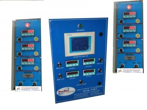 tủ điện đều khiển hệ thống cân